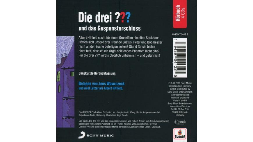 Jens Wawrczeck liest und das Gespensterschloss