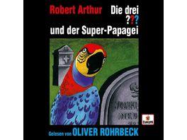 Oliver Rohrbeck liest und der Super Papagei