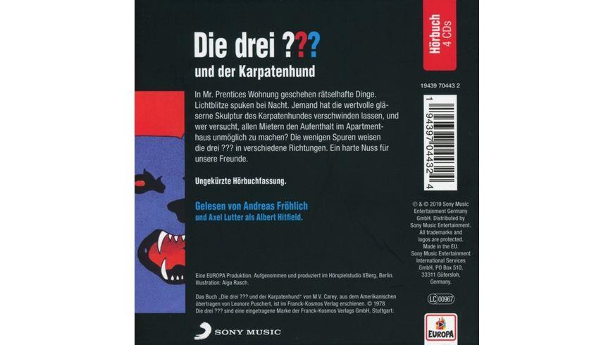 Andreas Froehlich liest und der Karpatenhund