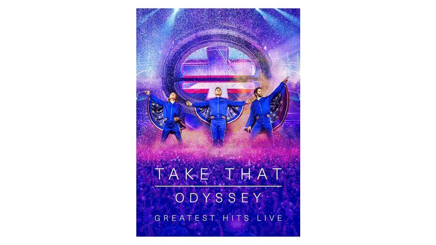 Odyssey Greatest Hits Live Ltd DVD CD