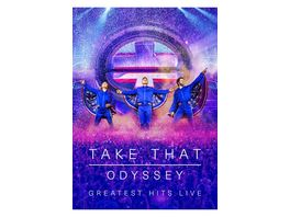 Odyssey Greatest Hits Live Ltd DVD CD