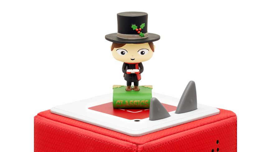 tonies Hoerfigur fuer die Toniebox 5 Lieblings Klassiker Eine Weihnachtsgeschichte und vier weitere Klassiker