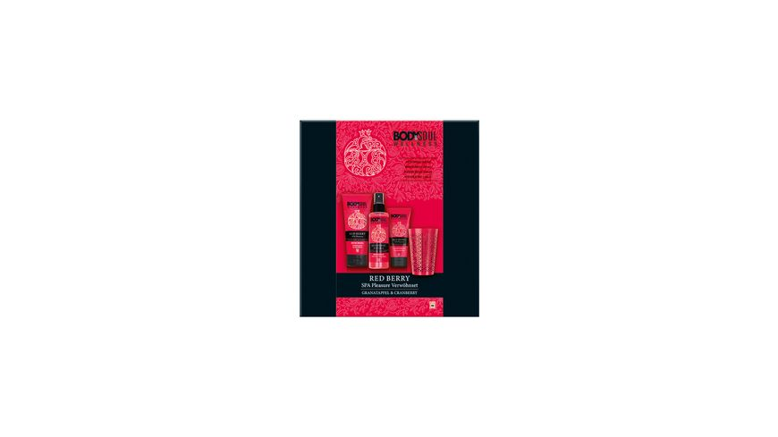 BODY SOUL Geschenkset Red Berry