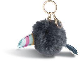 NICI Tukan Taschenanhaenger 8cm mit Pompon