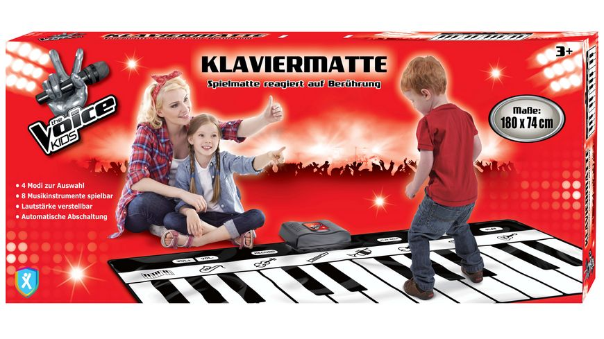 Xtrem Toys The Voice Kids Klavier Matte