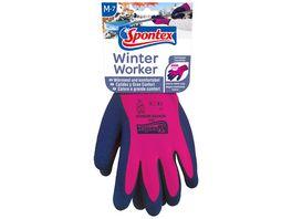Spontex Winter Worker Handschuh Gr 7 7 5