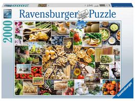 Ravensburger Puzzle Food Collage 2000 Teile