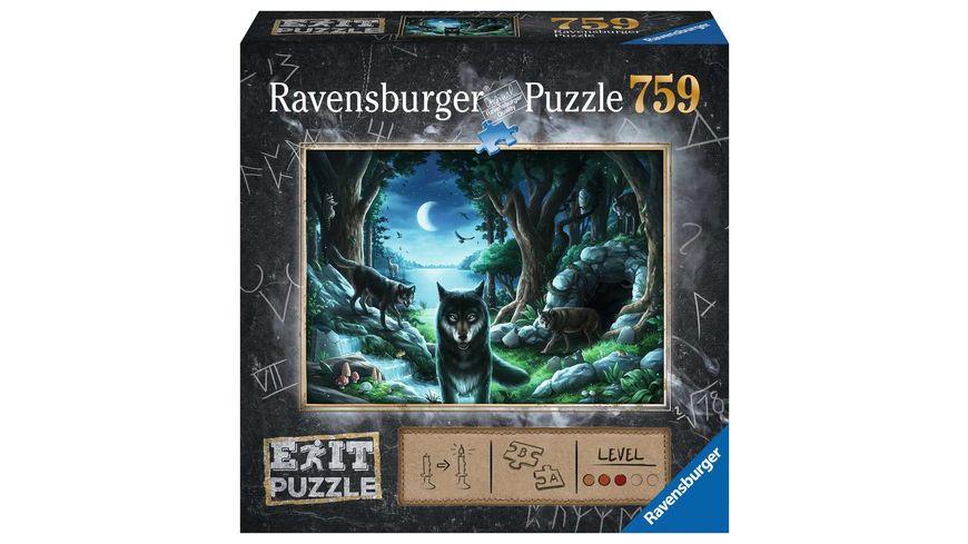 Ravensburger Puzzle EXIT Wolfsgeschichten 759 Teile