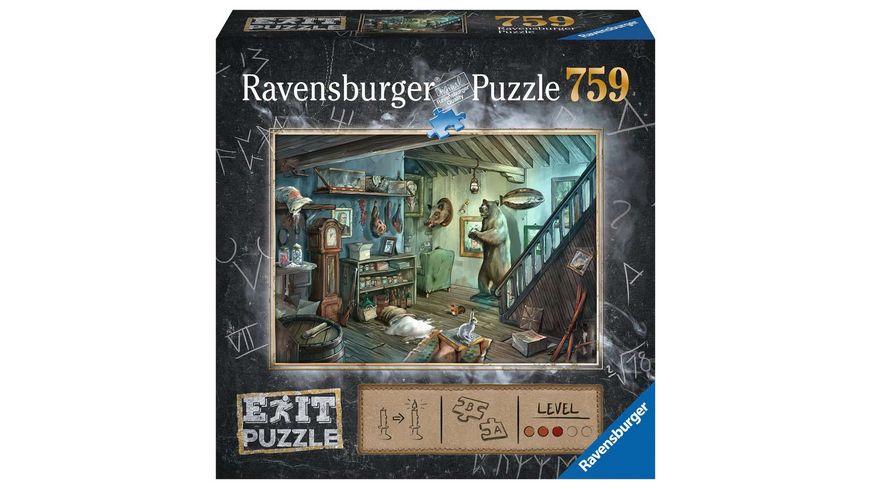 Ravensburger Puzzle EXIT Im Gruselkeller 759 Teile