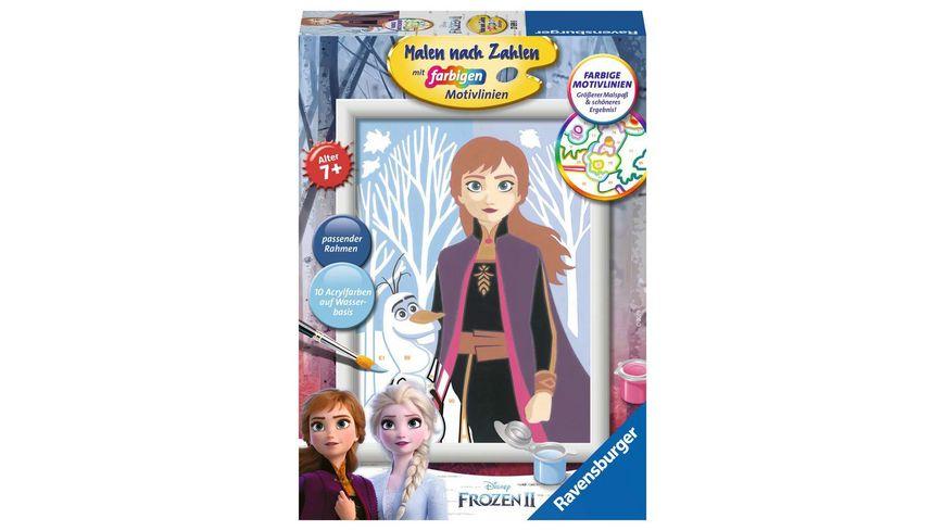 Ravensburger Beschaeftigung Malen nach Zahlen Frozen 2 Anna und Olaf