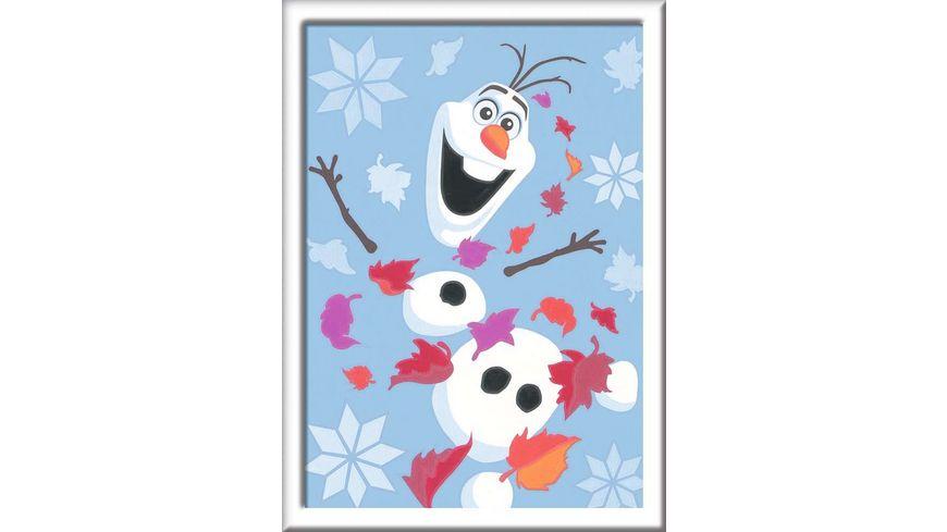 Ravensburger Beschaeftigung Malen nach Zahlen Frozen 2 Froehlicher Olaf