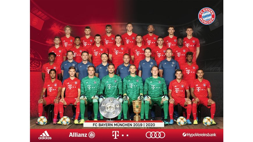 Ravensburger Puzzle FC Bayern Saison 2019 20 1000 Teile