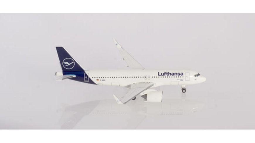 Herpa 533386 Wings Lufthansa Airbus A320neo new colors Rastatt