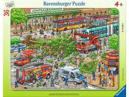 Ravensburger Puzzle Einsatz auf der Strasse 36 Teile