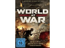 World at War 3 Kriegsfilme in einer Edition 3 DVDs