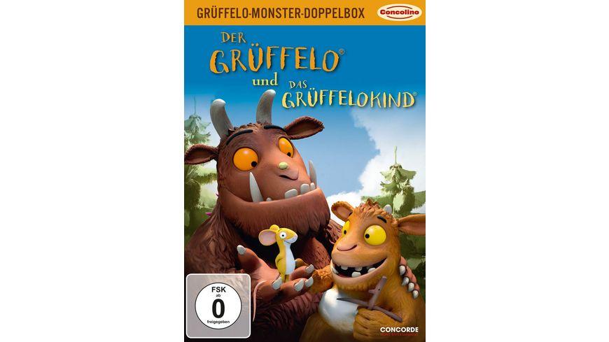 Grueffelo Monster Box Der Grueffelo Das Grueffelokind 2 DVDs