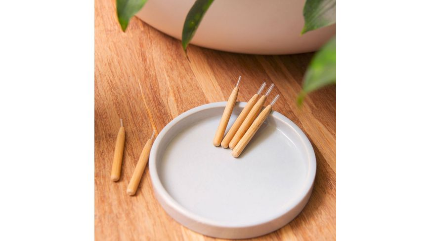 HYDROPHIL Interdentalbuersten aus Bambus Size 2 0 50 mm