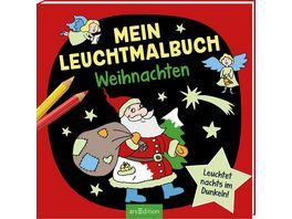 Mein Leuchtmalbuch Weihnachten