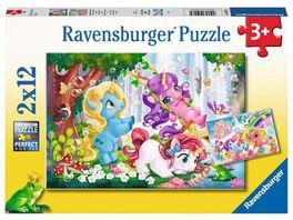 Ravensburger Puzzle Magische Einhornwelt 2x12 Teile