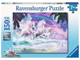 Ravensburger Puzzle Einhoerner am Strand 150 XXL Teile
