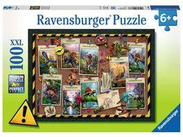 Ravensburger Puzzle Dinosaurier Sammlung 100 XXL Teile