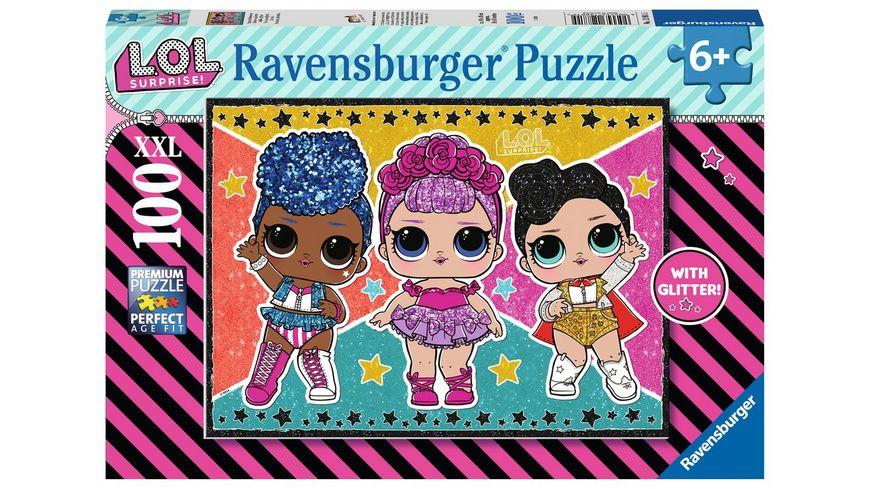 Ravensburger Puzzle - L.O.L. Surprise!, Stars und Sternchen, 100 XXL Teile