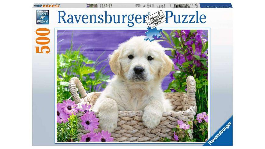 Ravensburger Puzzle Suesser Golden Retriever 500 Teile