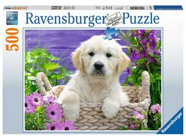 Ravensburger Puzzle Suesser Golden Retriever 500 Teile