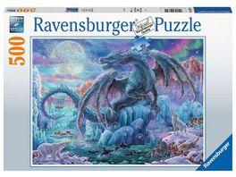 Ravensburger Puzzle Eisdrache 500 Teile