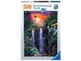 Ravensburger Puzzle Traumhafte Wasserfaelle 500 Teile