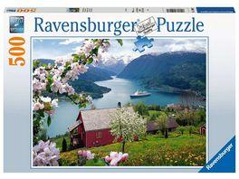 Ravensburger Puzzle Skandinavische Idylle 500 Teile