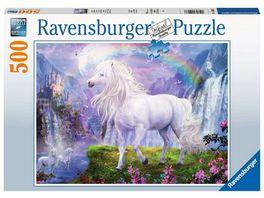 Ravensburger Puzzle Im Tal des Regenbogens 500 Teile