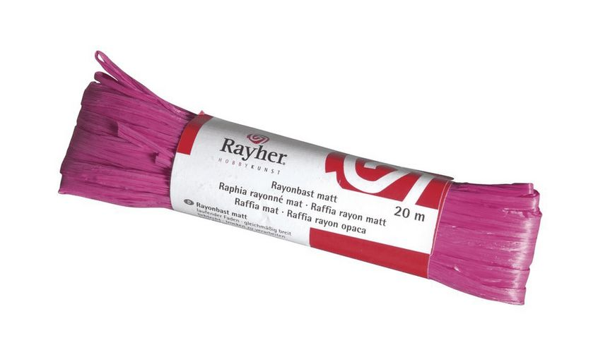 Rayher RAYONBAST MATT 20 M PINK 5214933