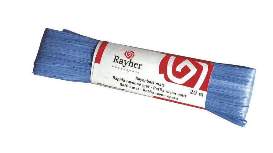 Rayher RAYONBAST MATT 20 M DKL BLAU 5214910