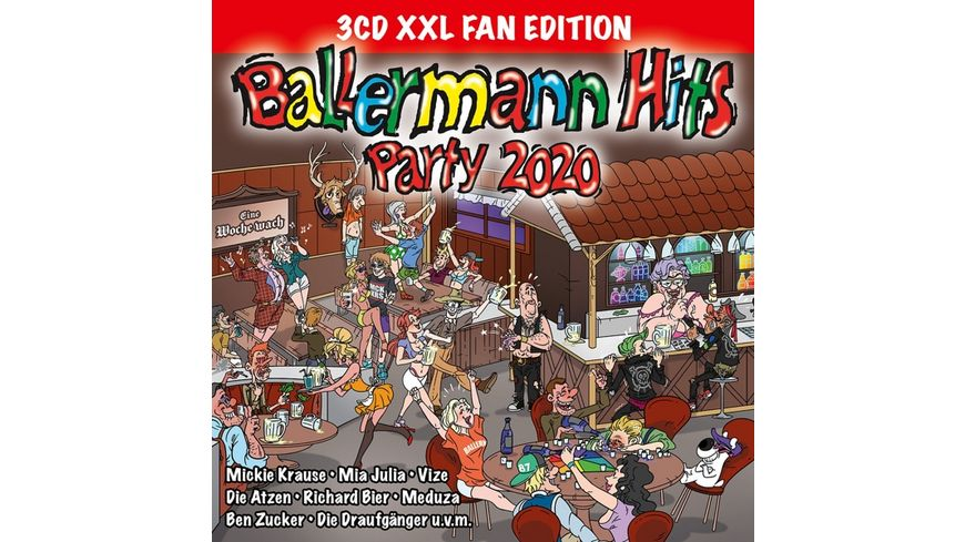 Ballermann Hits Party 2020 XXL Fan Edition
