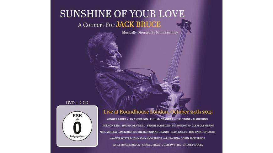 Sunshine Of Your Love-A Concert For Jack Bruce