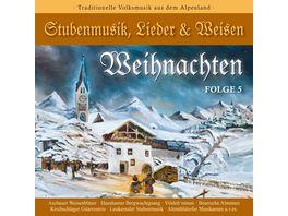 WEIHNACHTEN Stubenmusik Lieder Weisen 5