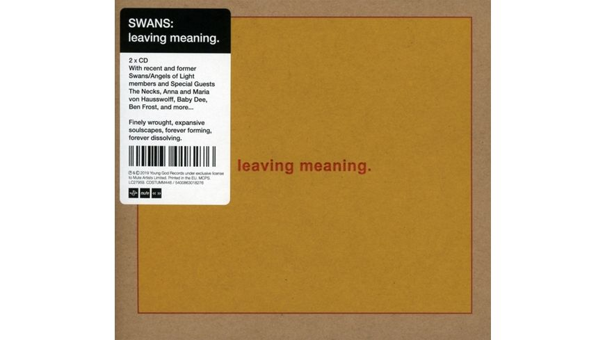 leaving meaning 2CD