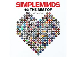 40 The Best Of Simple Minds 2LP