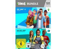 Die Sims 4 Bundle An die Uni und Basisspiel