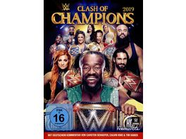 WWE Clash of the Champions 2019 2 DVDs