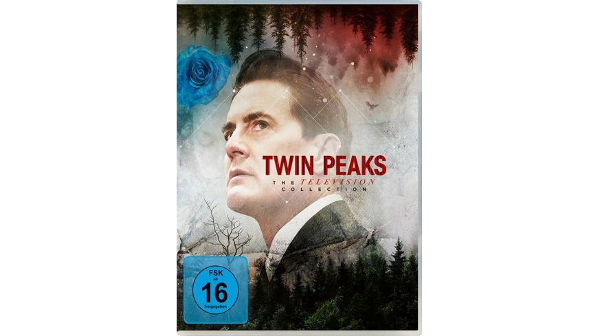Twin Peaks: Season 1-3 (TV Collection Boxset)  [16 BRs]