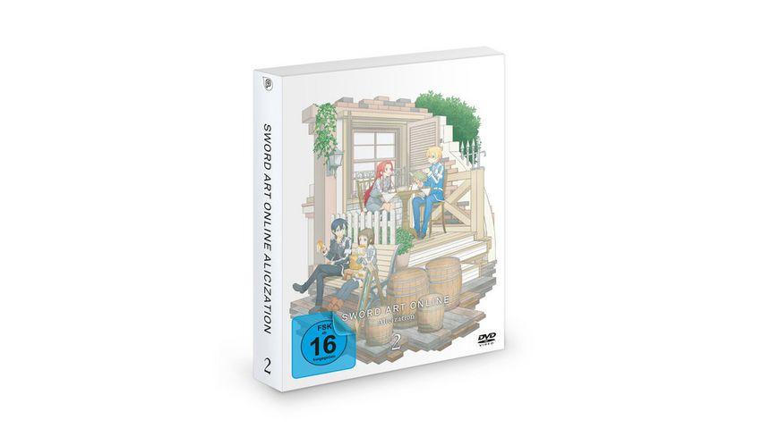 Sword Art Online - Alicization 3. Staffel - DVD 2 (Episode 07-12)  [2 DVDs]