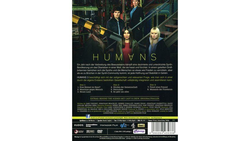 Humans Die Komplette Staffel 3 3 DVDs