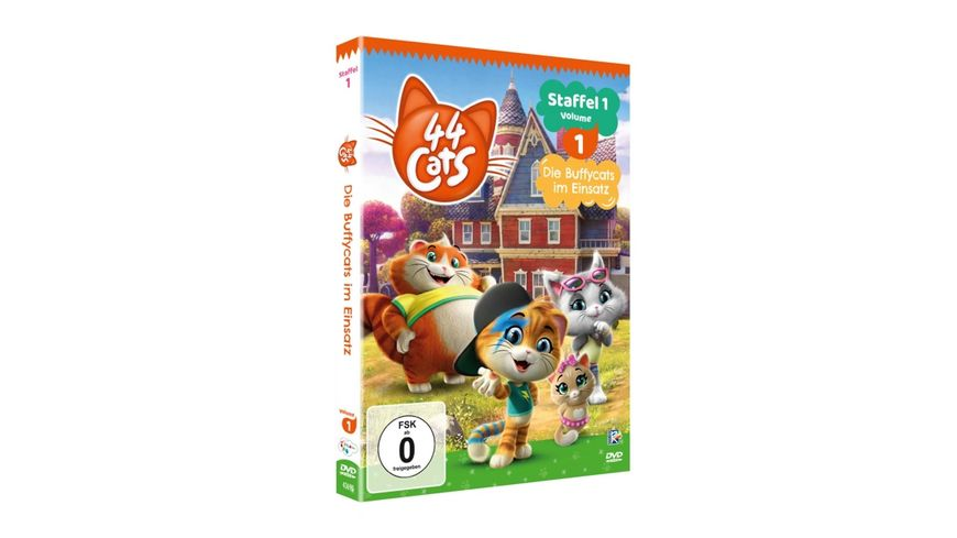44 Cats Staffel 1 Volume 1