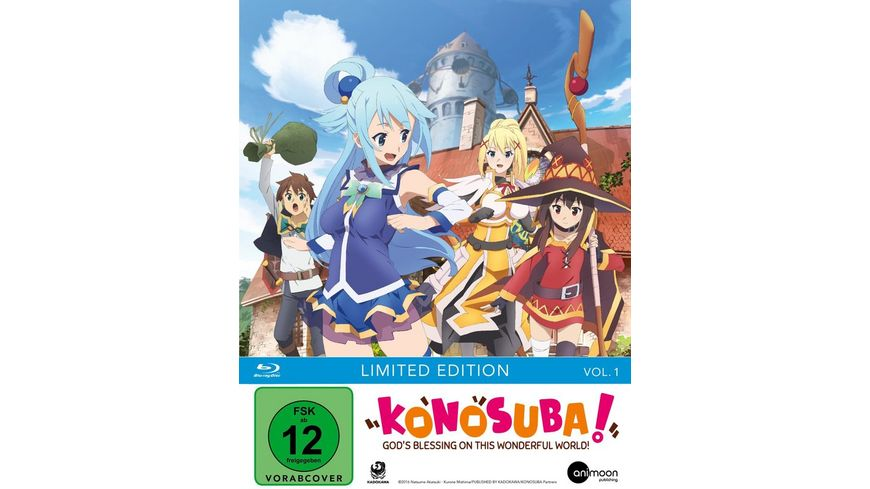 KonoSuba Vol 1