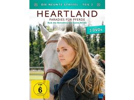 Heartland Paradies fuer Pferde Staffel 9 2 Episode 10 18 3 DVDs