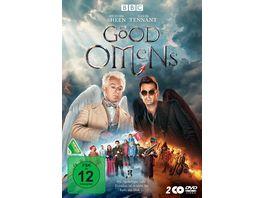 Good Omens 2 DVDs