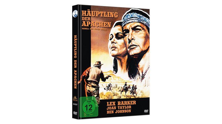 Haeuptling der Apachen Rebell der roten Berge Limited Mediabook Edition DVD plus Booklet
