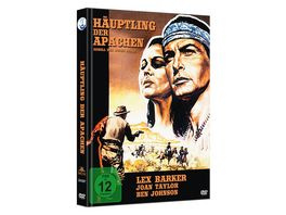 Haeuptling der Apachen Rebell der roten Berge Limited Mediabook Edition DVD plus Booklet